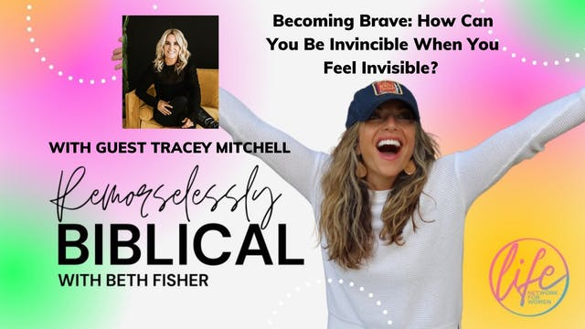 """""""Becoming Brave: How Can You Be Invin..."""