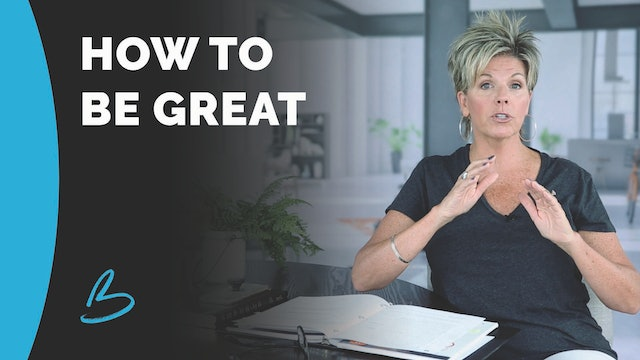 """""""How To Be Great"""" on Love Your Life"""