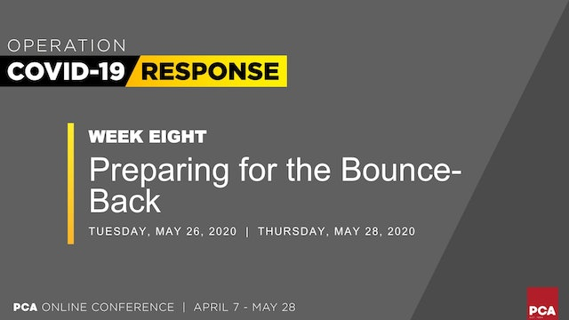 Preparing for the Bounce-Back