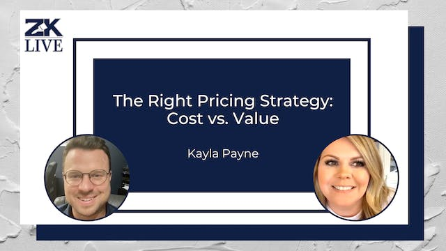 The Right Pricing Strategy