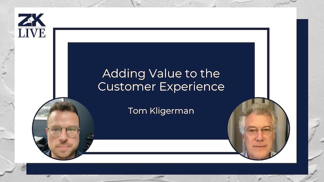 Adding Value to the Customer Experience