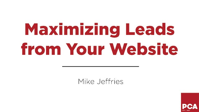 Maximizing Leads from Your Website
