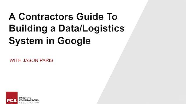 Building a Data/Logistics System