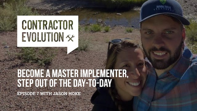 Become A Master Implementer, Step Out...