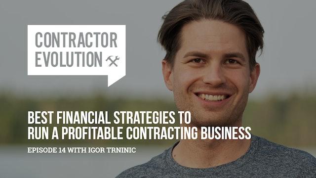 Run A Profitable Contracting Business