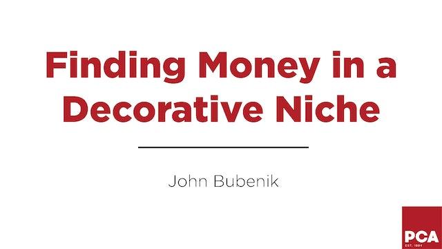 Finding Money in a Decorative Niche