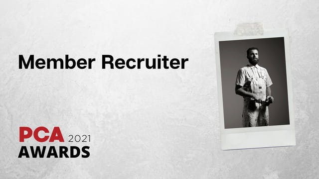 Member Recruiter of the Year
