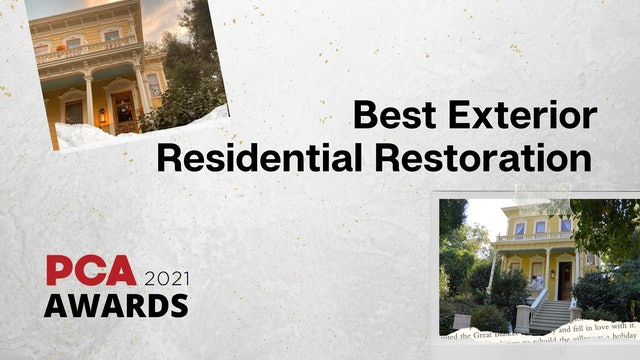 Best Exterior Residential Project