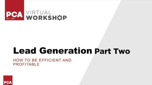 Comprehensive Lead Generation P2