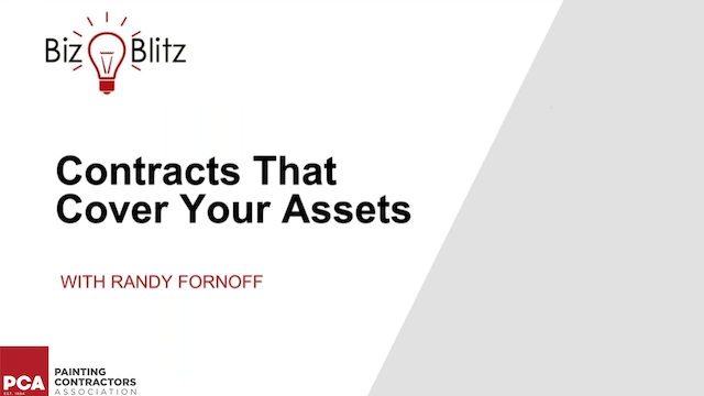 Contracts That Cover Your Assets