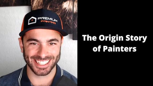 The Origin Story of Painters