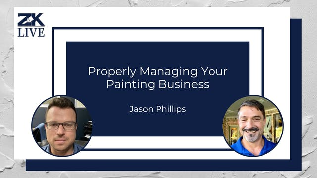 Properly Managing Your Painting Business