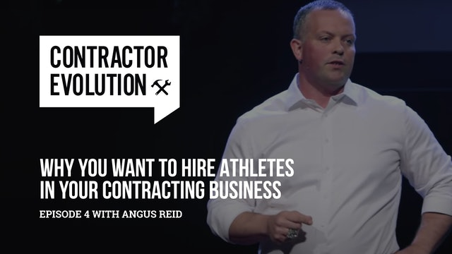 Ex Athletes The Best Recruiting Pool For Your Contracting Business