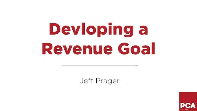 Developing a Revenue Goal