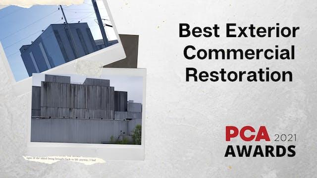 Best Exterior Commercial Restoration