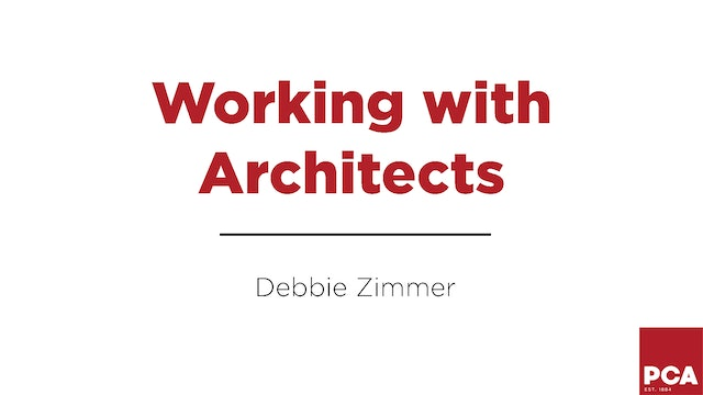 Working With Architects