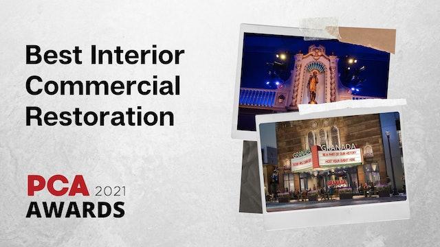 Best Interior Commercial Restoration