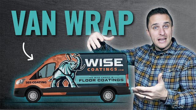 Wrapping and Up Fitting Our First Van