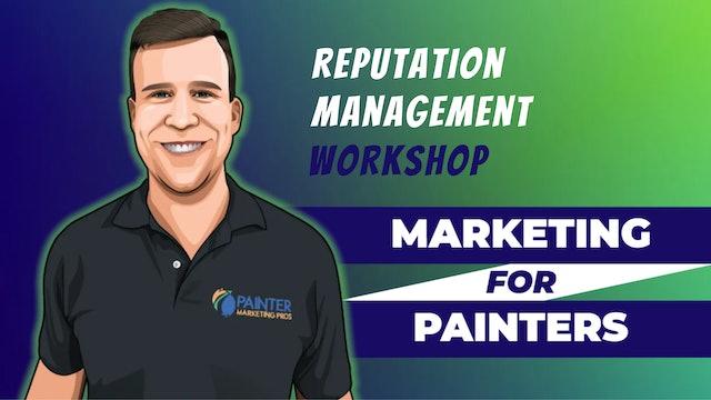 WORKSHOP: Reputation Management