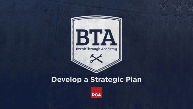 Develop a Strategic Plan 2021