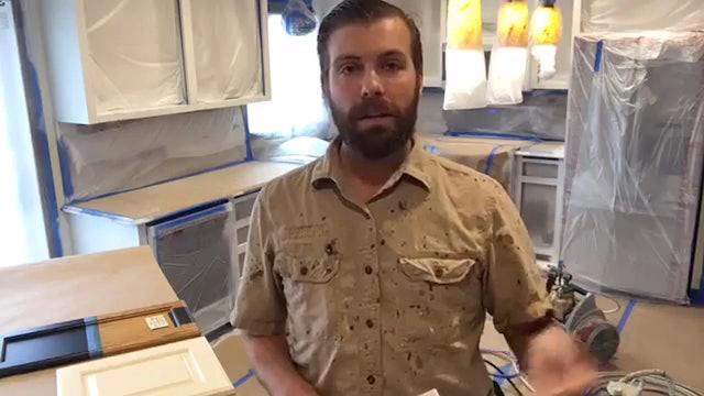 Spraying Cabinets