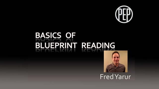 The Basics of Blueprint Reading