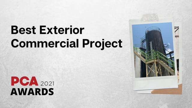 Best Exterior Commercial Project