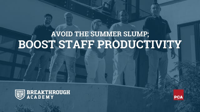 Boost Staff Productivity