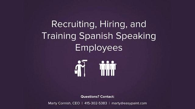 Recruiting Spanish Speakers