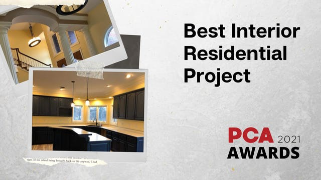 Best Interior Residential Project