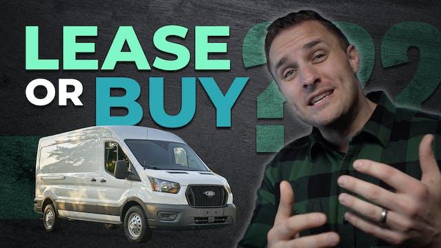 Leasing vs. Buying a Work Van