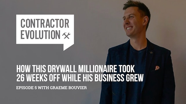 How This Drywall Millionaire Took 26 Weeks Off While His Business Grew