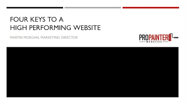 Keys to a High Performing Website