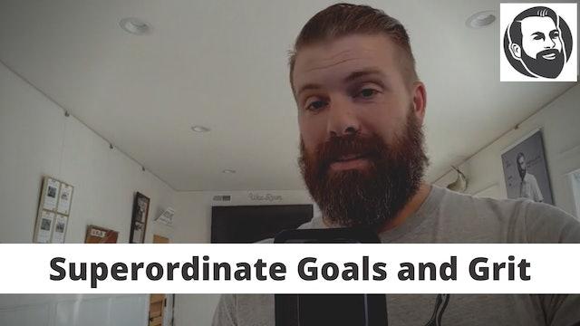 Superordinate Goals and Grit