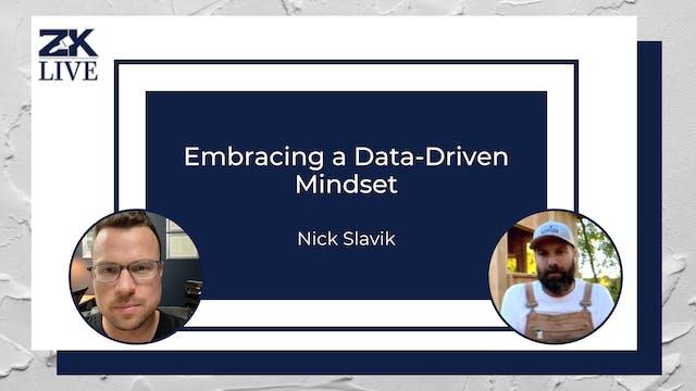 Embracing a Data-Driven Mindset