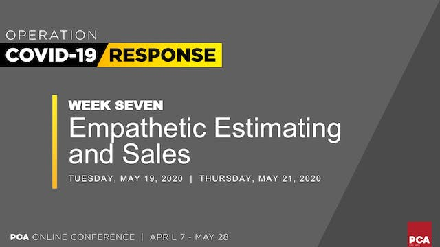 Empathetic Estimating and Sales