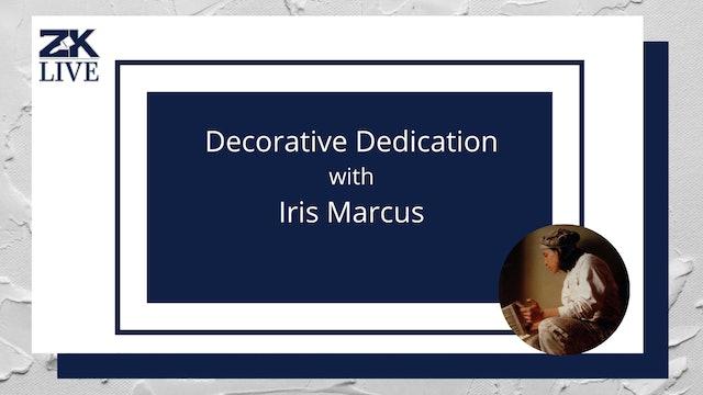 Decorative Dedication