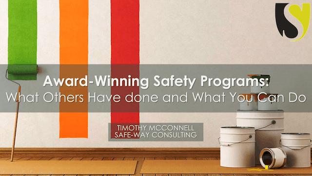 Award-Winning Safety Programs
