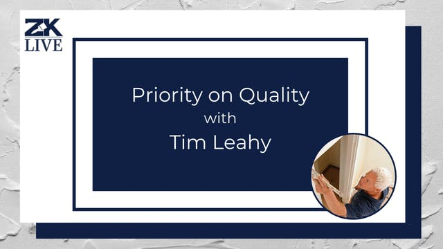 Priority on Quality