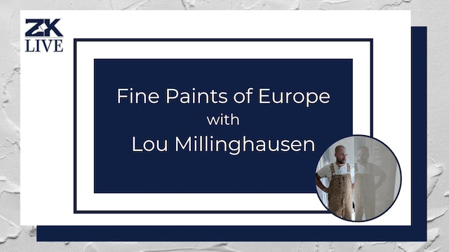 Fine Paints of Europe with Lou