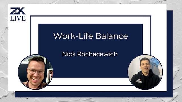 Prioritizing Work-Life Balance