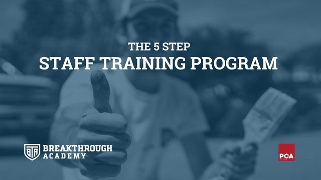 The 5-Step Staff Training Program