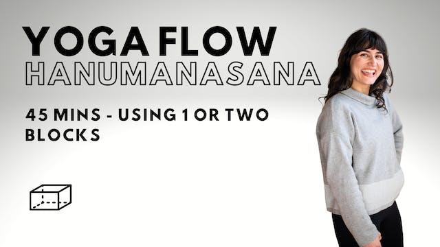 Yoga Flow - Hanumanasana