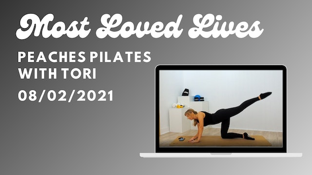 Most Loved Live - Pilates with Tori 08/02