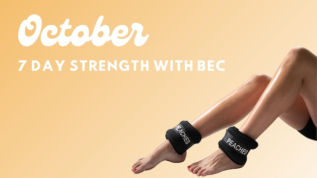 7 Day Strength With Bec