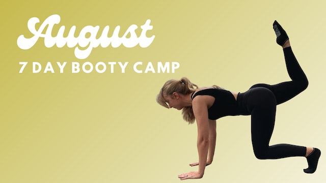 7 DAY BOOTY CAMP