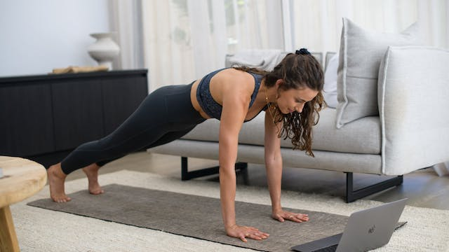 Mon 08/03 07:00am AEST | Pilates With...