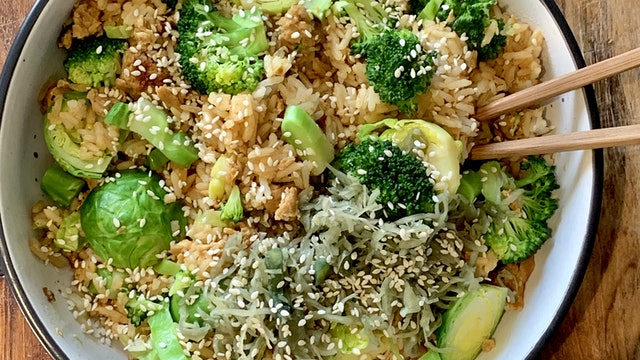 Fried Rice Breakky Bowl