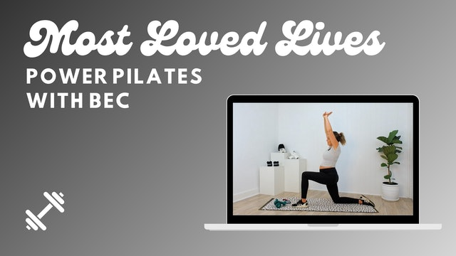 Most Loved Live - Power Pilates With Bec