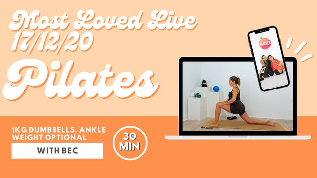 Most Loved Live - Pilates with Bec 17...